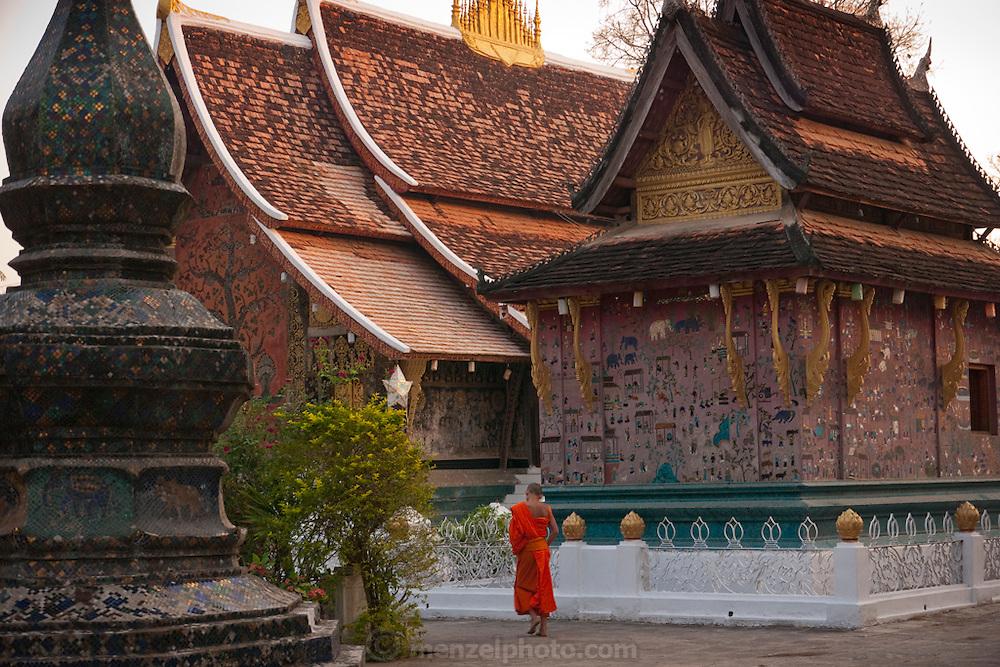 Wat Xieng Thong  Buddhist temple complex, Luang Prabang, Laos