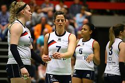 20160409 NED: Volleybal: Sliedrecht Sport - Eurosped TVT, Sliedrecht  <br />Marlies Wagendorp, Nienke de Waard