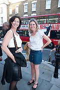 MARGOT ACKROYD; MICHELE OBERDIECK, Pimlico Road party. 22 June 2010. -DO NOT ARCHIVE-© Copyright Photograph by Dafydd Jones. 248 Clapham Rd. London SW9 0PZ. Tel 0207 820 0771. www.dafjones.com.