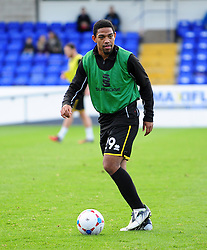 Bristol Rovers' Angelo Balanta - Photo mandatory by-line: Neil Brookman/JMP - Mobile: 07966 386802 - 22/11/2014 - Sport - Football - Chester - Deva Stadium - Chester v Bristol Rovers - Vanarama Football Conference