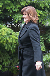 Downing Street, London, December 8th 2015. Education Secretary Nicky Morgan leaves Downing Street following the weekly cabinet meeting.