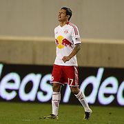 Tim Cahill, Red Bulls, during his sides loss during the New York Red Bulls V D.C. United Major League Soccer, Eastern Conference Semi Final 2nd Leg match at Red Bull Arena, Harrison. New Jersey. USA. 8th November 2012. Photo Tim Clayton