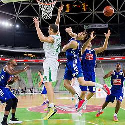 20131010: SLO, Basketball - ABA League, KK Union Olimpija Ljubljana vs KK Cibona Zagreb