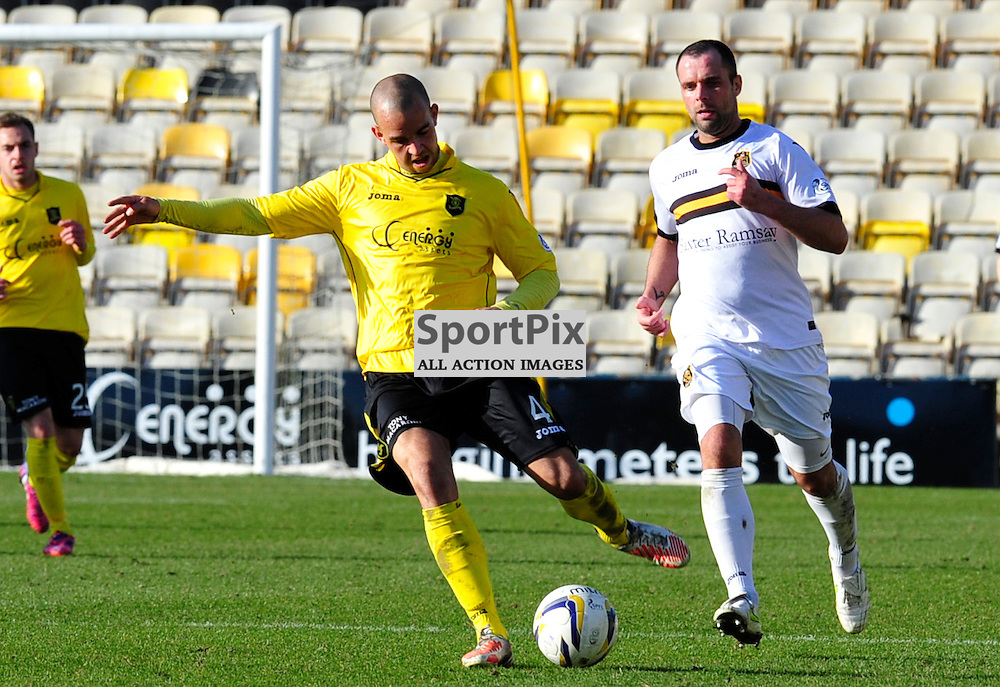 Livingston FC vs Dumbarton FC Scottish Championship 21 MARCH2015.