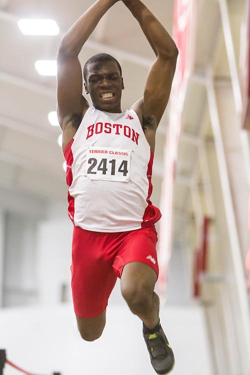 Boston University Multi-team indoor track & field, men triple jump, BU 2414