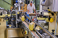 France, Côte d'Or (21), Beaune, la moutarderie Fallot // France, Côte d'Or, Beaune, Fallot mustard factory