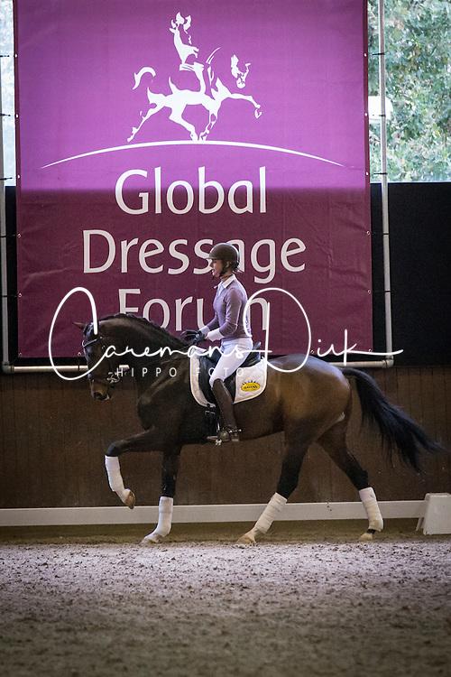 Cornelissen Adelinde (NED)<br /> A sensational new approach to fitness<br /> Global Dressage Forum - Academy Bartels <br /> Hooge Mierde 2012<br /> &copy; Dirk Caremans