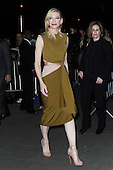Cate Blanchett arriving at the New York premiere