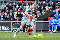 Florian THAUVIN - 07.02.2015 - Rennes / Marseille - 24eme journee de Ligue 1<br /> Photo : Gaston Petrelli / Icon Sport