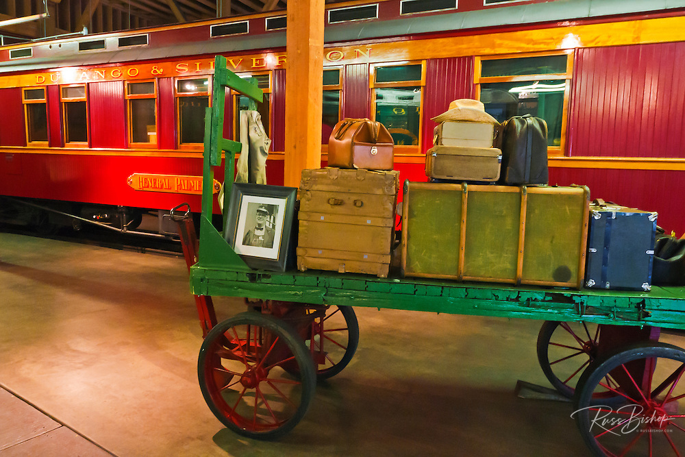 Durango & Silverton Narrow Gauge Railroad museum, Durango, Colorado