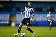 Steven Fletcher of Sheffield Wednesday during the EFL Sky Bet Championship match between Sheffield Wednesday and Stoke City at Hillsborough, Sheffield, England on 22 October 2019.