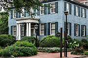 The Macon house located in the old town historic district, Portsmouth, Virginia, USA