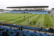 General view of the Academy stadium during the FA Women's Super League match between Manchester City Women and Brighton and Hove Albion Women at the Sport City Academy Stadium, Manchester, United Kingdom on 27 January 2019.