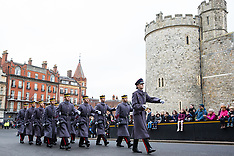2019-01-21 Queen's Gurkha Engineers change guard at Windsor Castle