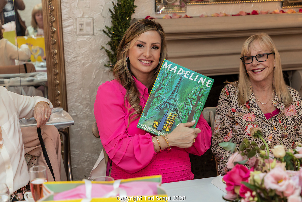 Baby shower at Il Cielo in Beverly Hills. 1/18/2020<br /> Photos by Ted Soqui,