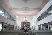 Kirche innen, Lauterbach, Vogelsberg, Hessen, Deutschland | interior of church, Lauterbach, Vogelsberg, Hesse, Germany