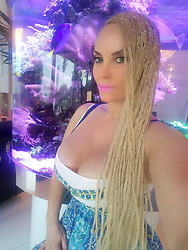 """Coco Austin releases a photo on Twitter with the following caption: """"""""Still enjoying my braids ..I have to admit the first 3 days the tightness killed me around the scalp but its a nice Summer look .."""""""". Photo Credit: Twitter *** No USA Distribution *** For Editorial Use Only *** Not to be Published in Books or Photo Books ***  Please note: Fees charged by the agency are for the agency's services only, and do not, nor are they intended to, convey to the user any ownership of Copyright or License in the material. The agency does not claim any ownership including but not limited to Copyright or License in the attached material. By publishing this material you expressly agree to indemnify and to hold the agency and its directors, shareholders and employees harmless from any loss, claims, damages, demands, expenses (including legal fees), or any causes of action or allegation against the agency arising out of or connected in any way with publication of the material."""
