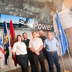 From left, Desiree Constable, Chris Solberg, Mike Turek, Mike Davis, Larry Auchoberry.