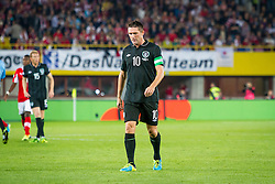 10.09.2013, Ernst Happel Stadion, Wien, AUT, FIFA WM Qualifikation, Oesterreich vs Irland, Rueckspiel, im Bild Robbie Keane, (IRL, #10)// during the FIFA World Cup Qualifier second leg Match between Austria and Ireland at the Ernst Happel Stadium in Vienna, Austria on 2013/09/10. EXPA Pictures © 2013, PhotoCredit: EXPA/ Sebastian Pucher