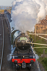 Flying Scotsman | Berwick Upon Tweed  | 14 May 2016