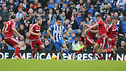 Brighton central midfielder, Beram Kayal (7) during the Sky Bet Championship match between Brighton and Hove Albion and Middlesbrough at the American Express Community Stadium, Brighton and Hove, England on 19 December 2015.