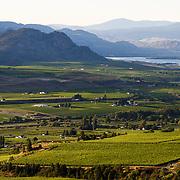 The south Okanagan Valley