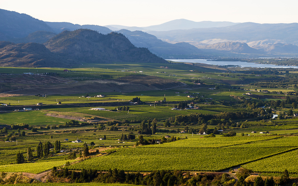 The south Okanagan Valley