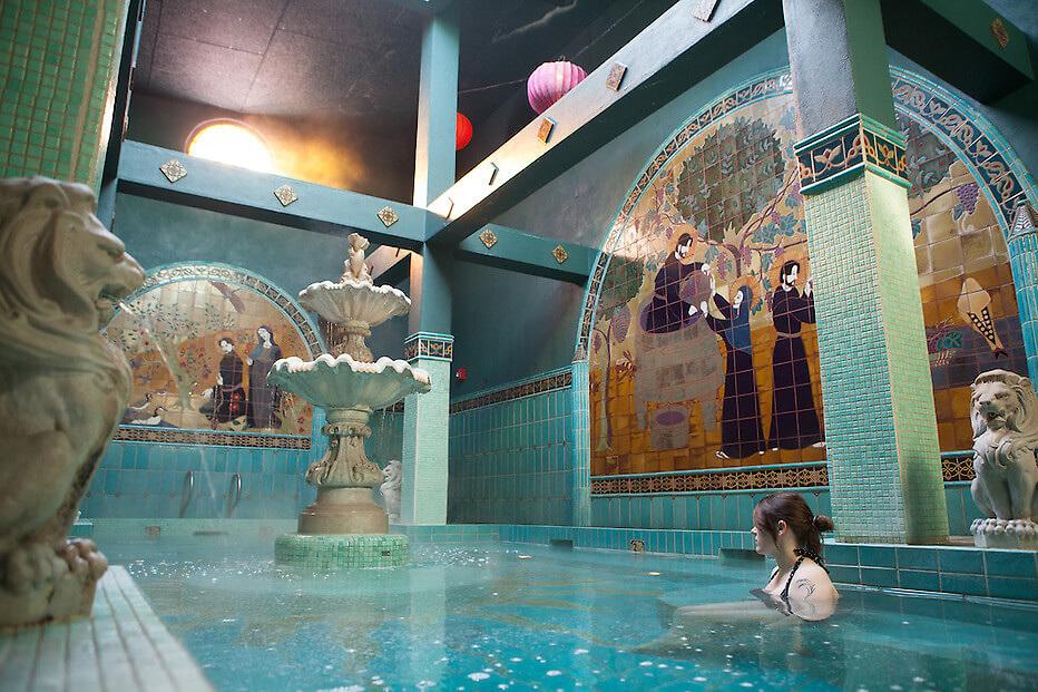 Old St. Francis School - Soaking Pool - McMenamins
