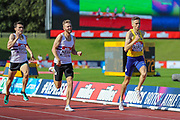 Neil GOURLEY wins the Men's 1500m Final during the Muller British Athletics Championships at Alexander Stadium, Birmingham, United Kingdom on 25 August 2019.