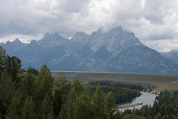The Snake River in Grand Teton National Park