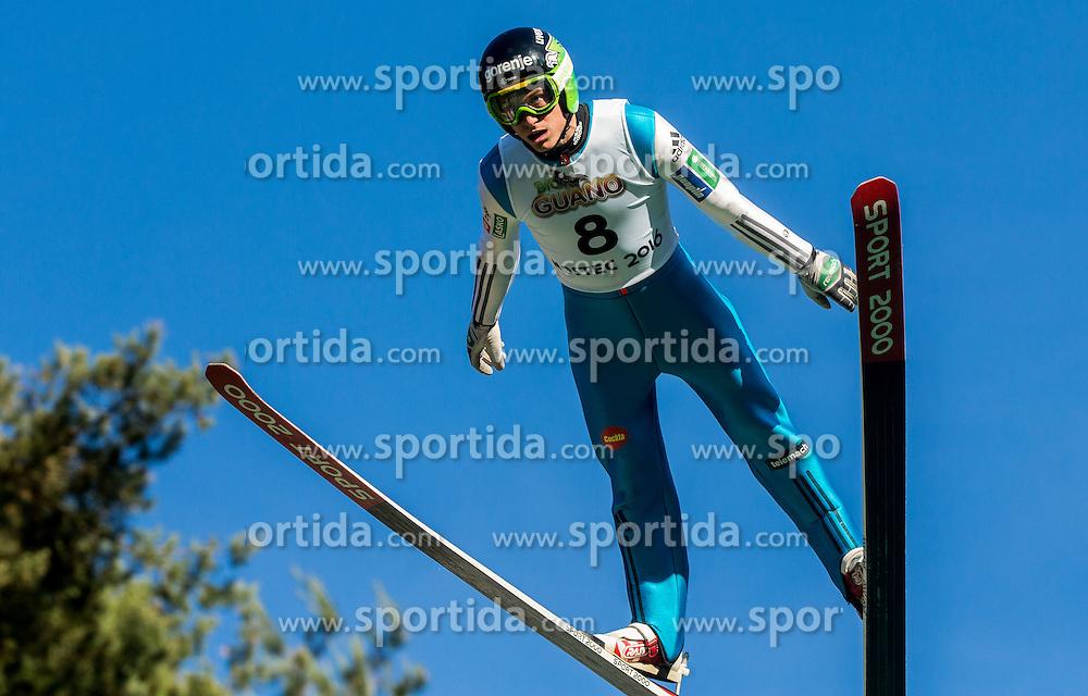 Andraž Pograjc (SLO) during Ski jumping Summer cup - 45. Revija skokov Mostec on June 4, 2016 in Mostec hill, Ljubljana, Slovenia.Photo by Vid Ponikvar / Sportida