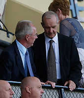 Photo: Steve Bond/Richard Lane Photography. Nottingham County v Nottigham Forest. Pre season Friendly. 25/07/2009. Sven-Goran Eriksson (L) and Tord Grip (R) discuss the first half