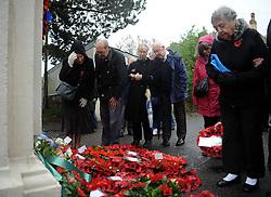 - Photo mandatory by-line: Dougie Allward/JMP - Mobile: 07966 386802 - 11/11/2014 - SPORT - Bristol - Memorial Stadium - Remembrance Service