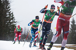 Federico PELLEGRINO (ITA), Simeon HAMILTON (USA)  during the man team sprint race at FIS Cross Country World Cup Planica 2019, on December 1, 2019 at Planica, Slovenia. Photo By Peter Podobnik / Sportida