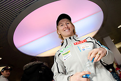 Tadeja Brankovic Likozar at press conference of Slovenia Biathlon team before new season 2010 - 2011, on November 24, 2010, in Emporium, BTC, Ljubljana, Slovenia.  (Photo by Vid Ponikvar / Sportida)