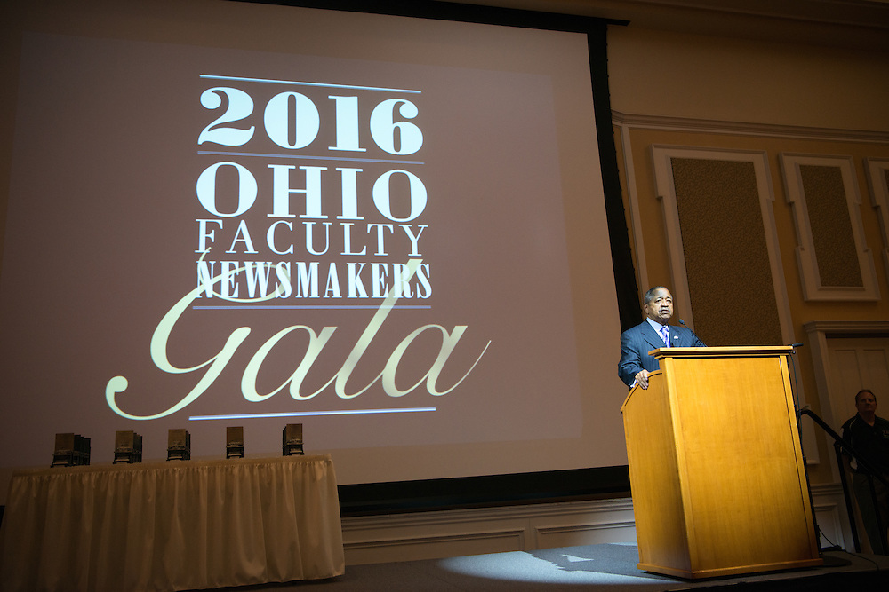 Faculty Newsmakers Gala 2016, Baker Center, University Marketing and Communications, UCM, Faculty, Staff, President Roderick McDavis