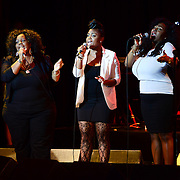Buckup singers performing with The Reverend Al Green at The Music Hall in Portsmouth, NH in August of 2012
