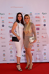 LIVERPOOL, ENGLAND - Tuesday, May 9, 2017: xxxx and xxxx on the red carpet for the Liverpool FC Players' Awards 2017 at Anfield. (Pic by David Rawcliffe/Propaganda)