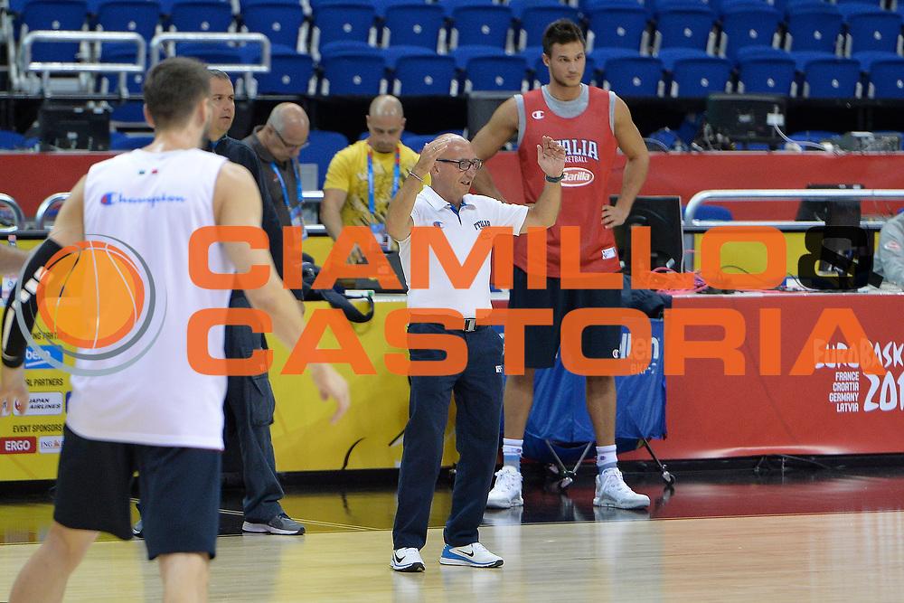 Descrizione : Berlino Eurobasket 2015 - Allenamento <br /> Giocatore : Luca Dalmonte<br /> Categoria : Allenamento<br /> Squadra: Italia Italy<br /> Evento : Eurobasket 2015<br /> Gara : Berlino Eurobasket 2015 - Allenamento<br /> Data: 03.09.2015<br /> Sport: Pallacanestro<br /> Autore: Agenzia Ciamillo-Castoria/I.Mancini<br /> Galleria : FIP Nazionale 2015<br /> Fotonotizia: Berlino Eurobasket 2015 -Allenamento
