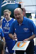 Pomezia, 17/05/2015<br /> Basket, Nazionale italiana Femminile <br /> Amichevole <br /> Italia - Gran Bretagna<br /> Nella foto: Roberto Ricchini<br /> Foto Ciamillo