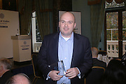 PHILIP COWLEY. Association awards, 2005. Institute of Directors. Pall Mall. London. 29 November 2005. ONE TIME USE ONLY - DO NOT ARCHIVE  © Copyright Photograph by Dafydd Jones 66 Stockwell Park Rd. London SW9 0DA Tel 020 7733 0108 www.dafjones.com