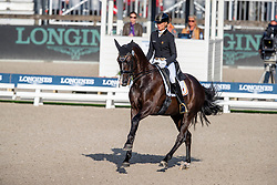 Cool Isabel, BEL, Aranco V<br /> European Championship Dressage<br /> Rotterdam 2019<br /> © Hippo Foto - Dirk Caremans