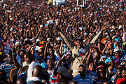 Dar es Salaam, Tanzania - 2015-08-29  -  A political rally by opposition coalition Ukawa in Dar es Salaam, Tanzania on August 27, 2015. Tanzania heads to the polls on October 25, 2015.  Photo by Daniel Hayduk