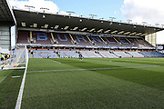 Stadium shot during the Sky Bet Championship match between Burnley and Leeds United at Turf Moor, Burnley, England on 9 April 2016. Photo by Simon Davies.