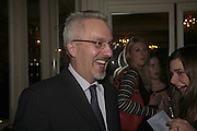 ALAN HOLLINGHURST. The Colman Getty Pen Quiz, Cafe Royal. London. 27 November 2006. ONE TIME USE ONLY - DO NOT ARCHIVE  © Copyright Photograph by Dafydd Jones 66 Stockwell Park Rd. London SW9 0DA Tel 020 7733 0108 www.dafjones.com