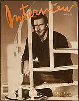 Dennis Quaid Interview june 1989