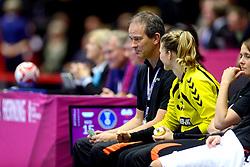 18-12-2015 DEN: World Championships Handball 2015 Poland  - Netherlands, Herning<br /> Halve finale - Nederland staat in de finale door Polen met 30-25 te verslaan / Bondscoach Henk Groener