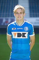 Gent's Nermin Zolotic the 2015-2016 season photo shoot of Belgian first league soccer team KAA Gent, Saturday 11 July 2015 in Gent.