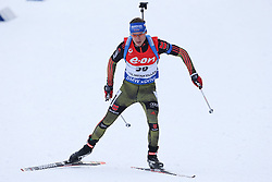 10.03.2016, Holmenkollen, Oslo, NOR, IBU Weltmeisterschaft Biathlion, Oslo, 20km, Herren, im Bild Simon Schempp (GER) // during Mens 20km individual Race of the IBU World Championships, Oslo 2016 at the Holmenkollen in Oslo, Norway on 2016/03/10. EXPA Pictures © 2016, PhotoCredit: EXPA/ Newspix/ Tomasz Jastrzebowski<br /> <br /> *****ATTENTION - for AUT, SLO, CRO, SRB, BIH, MAZ, TUR, SUI, SWE only*****
