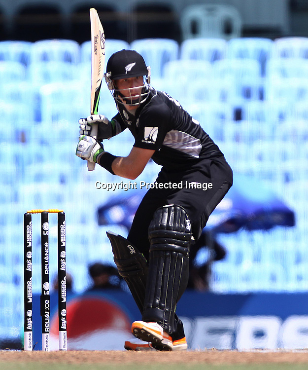 Martin Guptill. ICC Cricket World Cup 2011, New Zealand v Kenya at M. A. Chidambaram Stadium, February 20, 2011. Chennai, India. Photo: photosport.co.nz